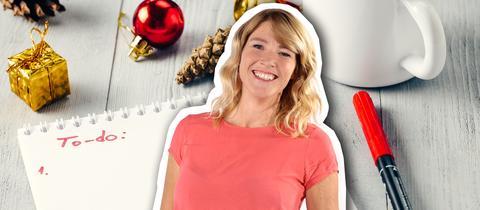 Tanja hat Weihnachten perfekt durchorganisiert