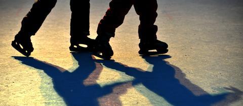 Eislaufen - immer eine gute Wahl! Auch an Weihnachten!