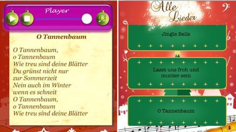 Texte Weihnachtslieder Zum Ausdrucken.Weihnachtslieder Apps Textsicher Unterm Tannenbaum Hr3 De Themen