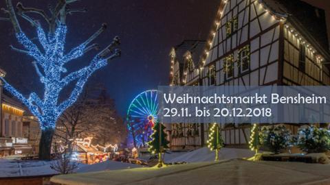 hr3-Weihnachtsmarkt-Tour - Bensheim