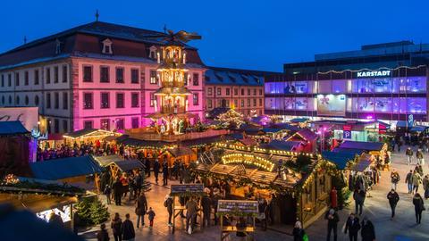 hr3-Weihnachtsmarkttour - Fulda