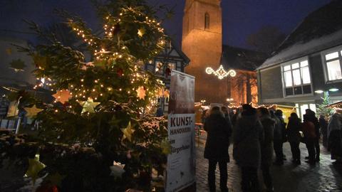 hr3-Weihnachtsmarkttour - Korbach