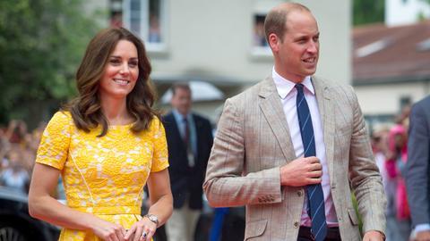 Prinz William und Herzogin Kate zu Besuch in Heidelberg