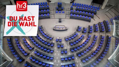 Bundestag hr3 Badge